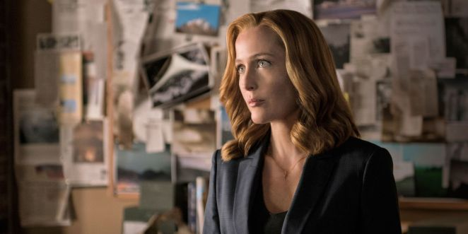 Gillian Anderson as Special Agent Dana Scully
