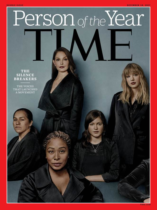 Time Magazine POY '17 Cover